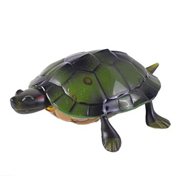 Infrared Remote Control Crawling Turtle Toy Animal Model Exquisite High Simulation Turtle With Light