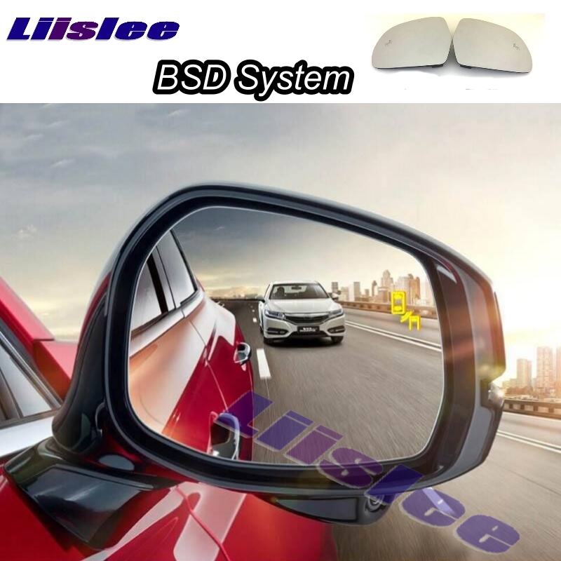 Car BSD System BSA BSM Blind Spot Detection Driving Warning Safety Radar Alert Mirror For Zotye T600 2016~2017 look back