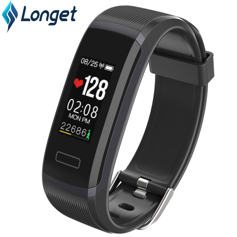 Smart Wristband Activity-Tracker Blood-Oxygen Longet Sport HR Android for Ios