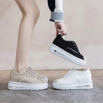 Single Shoes Female 2020 Autumn Women's Shoes Leisure Thick-soled Loafers One Pedal Lazy Shoes Fisherman Shoes Female Chao