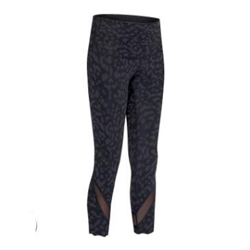 Women high Waist Leopard camo print capris sports sexy 4 way stretch Fabric leggings skinny pants