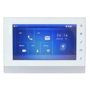 Doorbell Indoor-Monitor with VTNS1006A-2 Ip-doorbell/Video-intercom/Wired VTH5222CH-S1