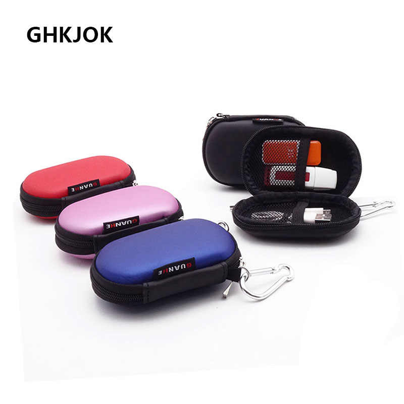 Original USB Flash Drive Carry Case Bag Protection Case Storage Hold bag Earphone Case Cable Organiser Accessories Storage Box