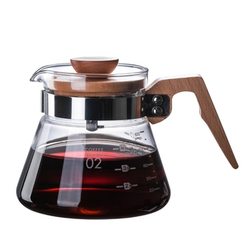 New Heatproof V60 Pour Over Coffee Dripper Glass Server Coffee Pot Coffee Kettle Brewer Barista Percolator maker 1