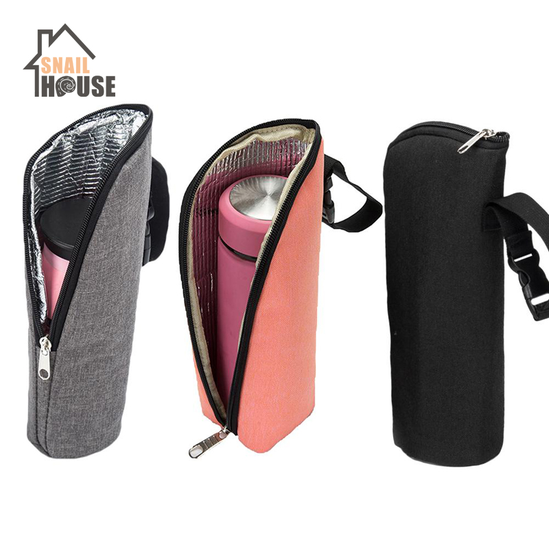 Snailhouse Baby Bottle Warmer Insulation Bag Travel Cup Drink Warm Milk Bottle Bag For Feed Newborn Tote Stroller Hang Bags