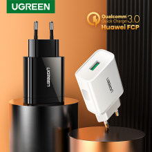 Ugreen USB Quick Charge QC 3.0 18W USB Charger QC3.0 Fast Wall Charger เครื่องชาร์จโทรศัพท์มือถือสำหรับ Samsung S10 huawei Xiaomi iPhone(China)