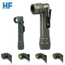 Военный Тактический фонарик портативный светодиодный с фокусом