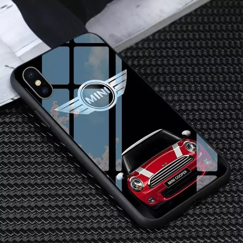 Iphone X XR XS 11pro Max 6 6S 7 8 Plus TPU Phone Case Car Accessories For Mini Cooper Countryman F54 F55 F60 R55 R56 R60 R61