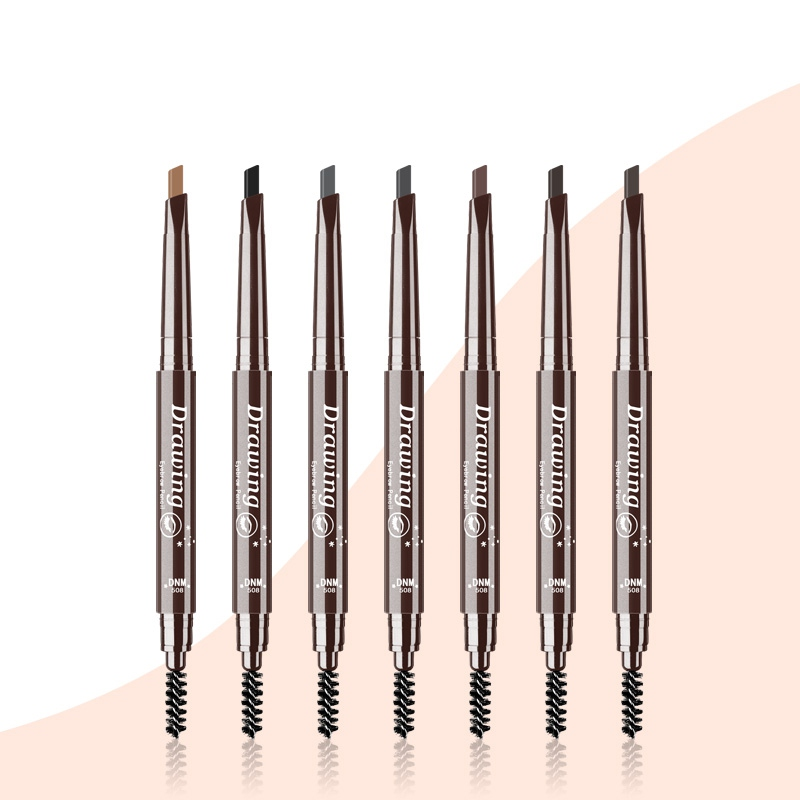 7 Colors Eyebrow <font><b>Pencil</b></font> Makeup Waterproof Eyebrow <font><b>Pencil</b></font> Long Lasting Paint Tattoo Eyeliner Eye Brow Pen Makeup Tools NEW image