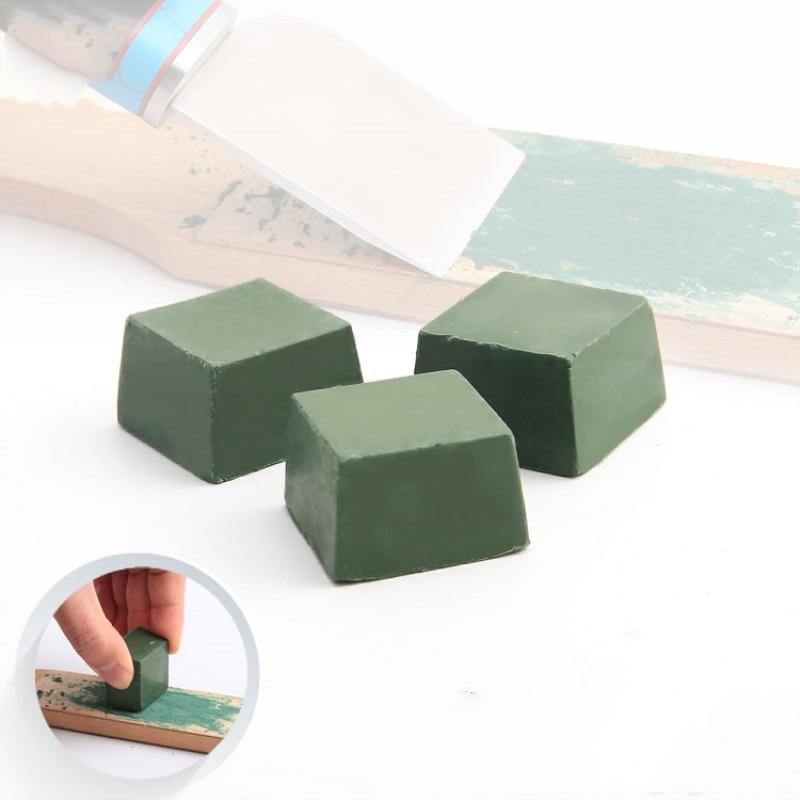 1Pcs Green Polishing Paste Alumina Fine Abrasive Green Buff Polishing Compound Metal Jewelry Polishing Compound Abrasive Paste