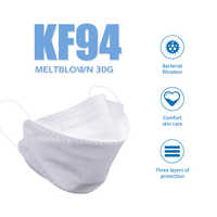 20PCS kf94마스크 Face Mouth Masks 4 Layer Non-woven Anti Dust Safety Protective Mouth Nose Covers Masks Dustproof Anti-Polution