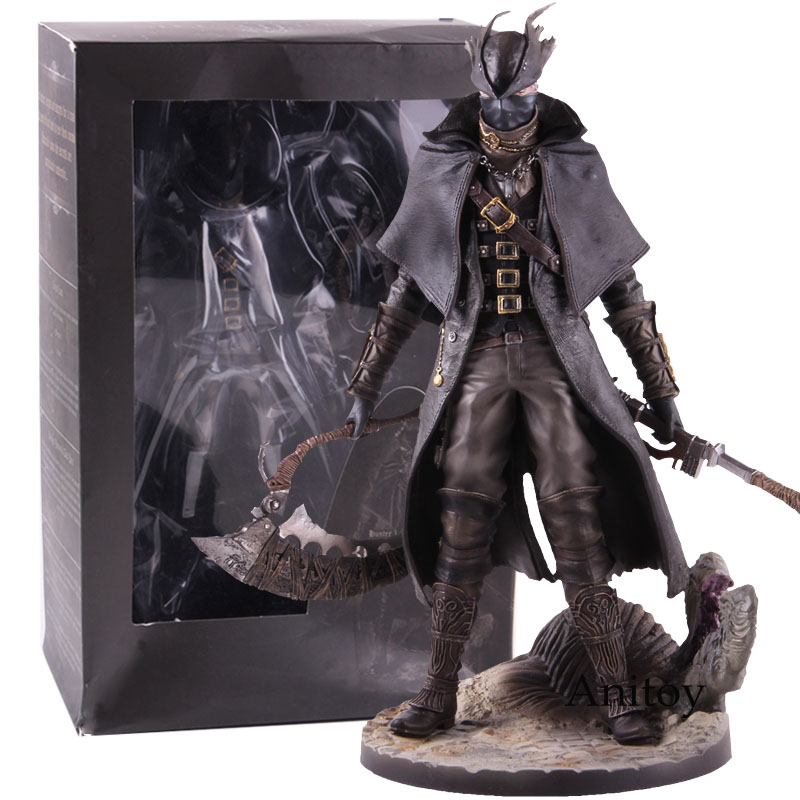 Bloodborne The Old Hunters 1/6 Scale Statue Figure PVC Action Figure Bloodborne Hunter Collectible Model Toy