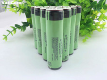 10 pcs/ Lot Protected New Original NCR18650B 3400mAh 18650 Rechargeable battery with PCB 3.7v For Flashlight use