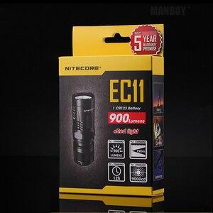 Image 2 - NITECORE batterie Rechargeable EC11 + IMR 18350, blanc et rouge, lampe torche led, lampe torche étanche, sauvetage en extérieur, recherche et Camping, vente en gros