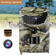 Trail camera 16MP 1080P камера дикой природы с 120 ° широкоугольная игровая камера