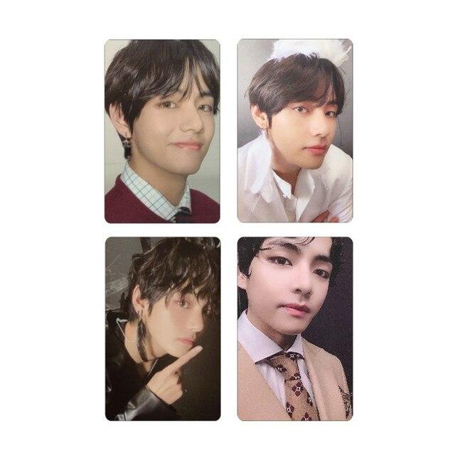 Hot KPOP Bangtan Boys Album MAP OF THE SOUL 7 Collection Card Photocard Cards Reflective