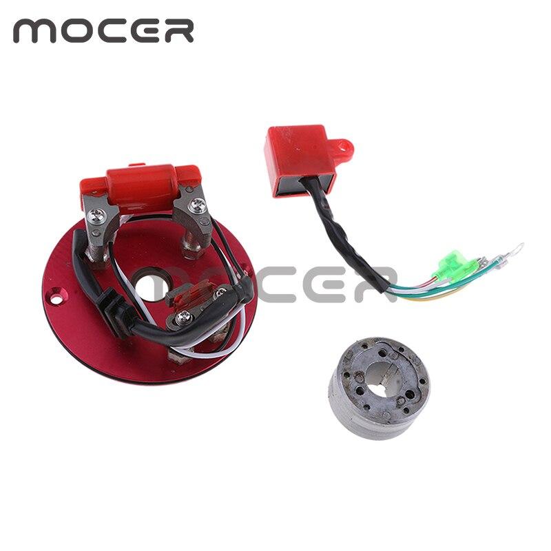 Производительность Магнето внутренний ротор комплект статор CDI для CRF50 Пит Байк ATV