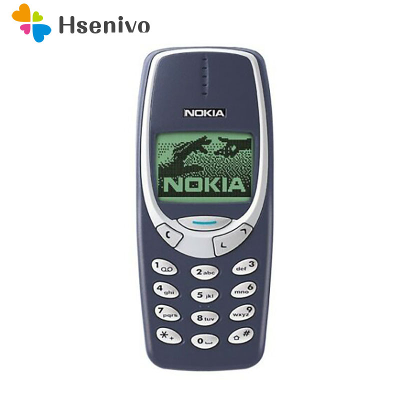 Original Nokia 3310 Refurbished Cheap Phone Unlocked GSM 900/1800 With Russian& Arabic Keyboard Multi Language 1 Year Warranty
