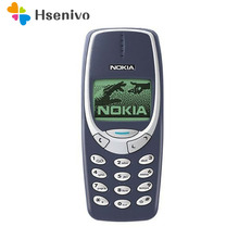 Original Nokia 3310 Refurbished cheap phone unlocked GSM 900/1800 with russian& Arabic keyboard multi language 1 year warranty