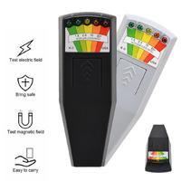 KII K2 Electromagnetic Field EMF Gauss Meter Ghost Hunting Detector Portable Magnetic Field Detector 5 LED Gauss Meter