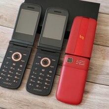 Разблокировать Flip старший мобильный телефон Экстра Слим большая клавиатура SOS быстрого набора Dual Sim FM звук Регистраторы пожилыми людьми для мобильного телефона