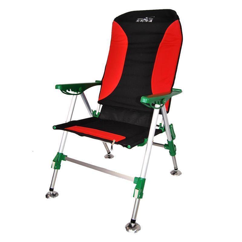 All Terrain Fishing Chair 2018 New Fishing Chair Multifunctional Folding Recliner Ultra Light Platform Fishing Chai
