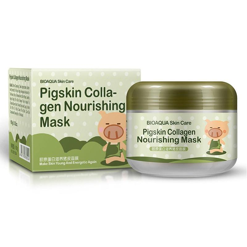 Carbonated Bubble Clay Mask Dispel The Black Head Whitening Moisturizing Facial Masks Skin Care Nutrition Repair Face Cream