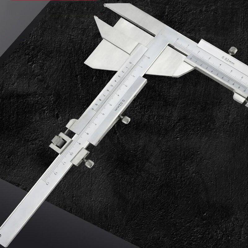 Pied à coulisse d'épaisseur de dent d'échelle de Laser de 25mm et outil de mesure de règle de mesure de marquage parallèle de Scribe d'acier inoxydable