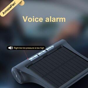 Image 4 - Solar Power Smart Auto Tpms Bandenspanning Alarm Monitoring Systemen Digitale Tmps Lcd Display Usb Auto Beveiliging Druk Sensor