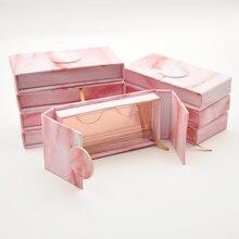 30/упаковка коробка для ресниц коробки для ресниц упаковка индивидуальный логотип искусственные cils 3d норковые ресницы в виде книги Магнитный чехол оптом