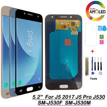SM-J530F/M/Ds Amoled/Tft Lcd Voor Samsung Galaxy J5 Pro 2017 J530 J530F J530FN Screen Lcd display Touch Pancel 1280X720 5.2''(China)