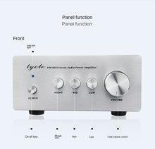 2021 lyele a90 amplificadores digitais de alta fidelidade de alta potência 68w * 2 casa painel traseiro lm3886 + ne5534 + lm317 mini amplificadores de alta fidelidade