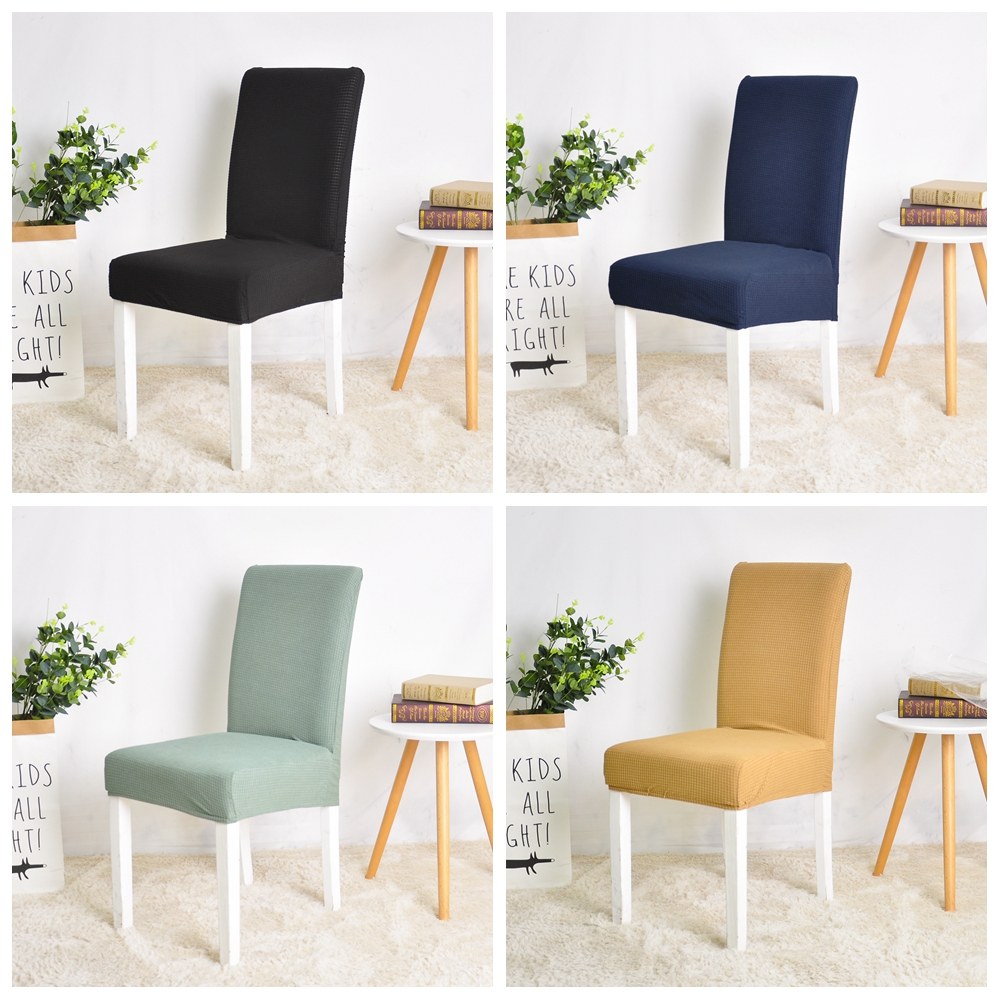 Water Resistant Chair Cover Spandex Jacquard for Dining Room Restaurant Banquet Party Hotel Wedding  Water Repellent 1PC