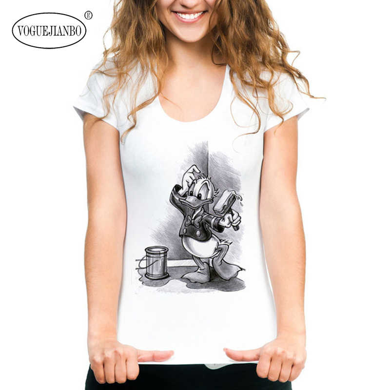 Pulôver feminino estampado mickey mouse, camiseta de manga curta com estampa de flores, tamanho grande, 2020