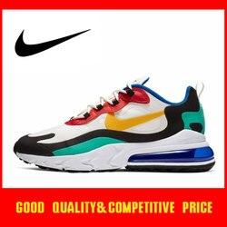 Оригинальные оригинальные мужские беговые кроссовки Nike Air Max 270 React, трендовые уличные спортивные кроссовки, AO4971-002, 2019