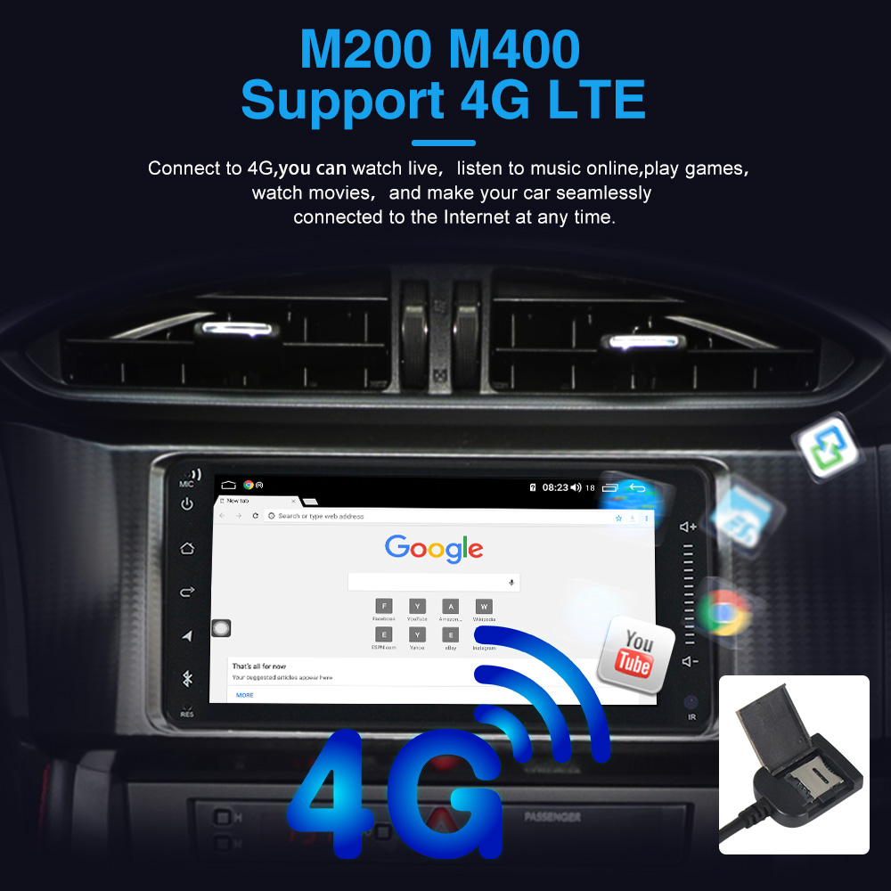Image 3 - MEKEDE 4G LTE 4G+64G Android 10.0 Car DVD GPS Navigation for SsangYong Korando Actyon 2014 2015 Car Radio Stereo Wifi 4G DVRCar Multimedia Player   -