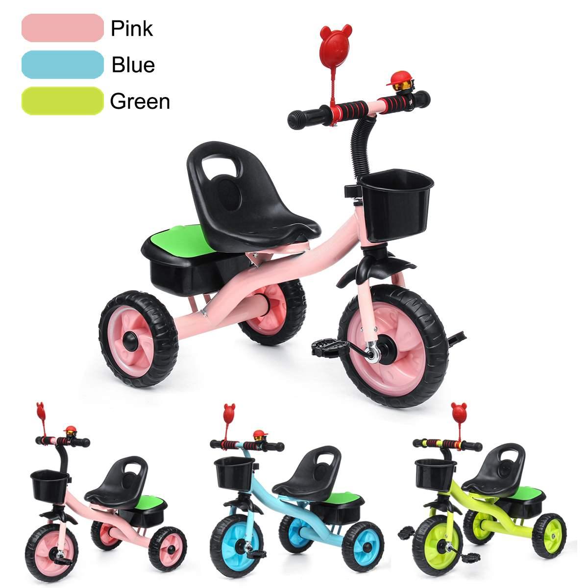 Kids Children Child Tricycle Bicycle 3 Wheel  Kindergarten Kids Ride On Bike Toddler Trike For 2-6 Years Old Kid