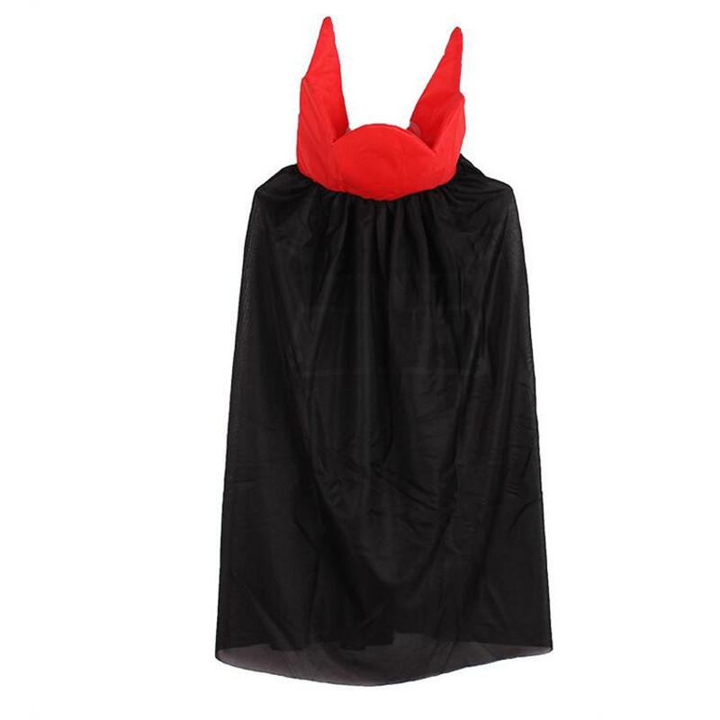 Boy King Children Vampire Cosplay Witch Devil Cloak Cape Prince Crown Birthday Party Cosplay halloween costume kids christmas