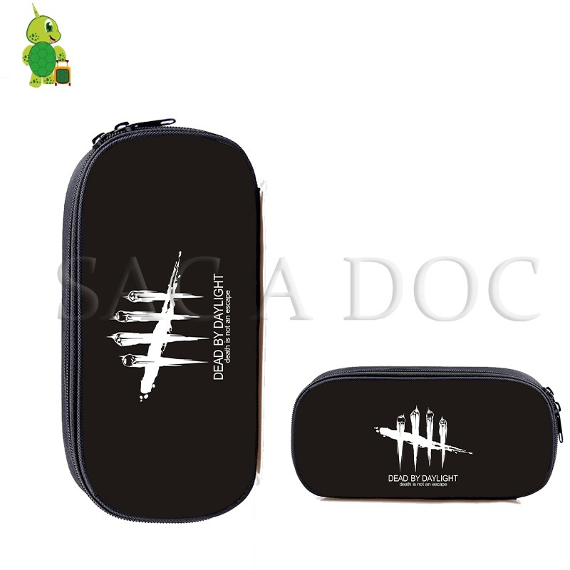 Dead By Daylight Game Cosmetic Cases Students Pencil Bags Kids Stationery School Supplies Boys Girls Makeup Bag