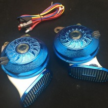 Car-Horn Rv-Truck Digital Universal 12V Blue Siren Auto 8-Sounds-Replace Motorcycle 110db