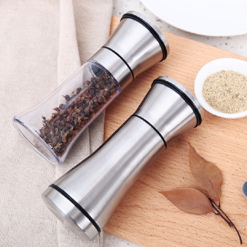 Manuale Sale Pepe Mill Grinder Riutilizzabile Regolabile Grinder Spice Mill Utensili Da Cucina Portatile