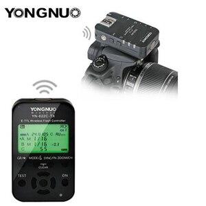 Image 5 - 永諾 YN 622C TX YN622C TX 液晶ワイヤレス e ttl フラッシュコントローラ 1/8000 8000s フラッシュトリガー用一眼レフカメラ