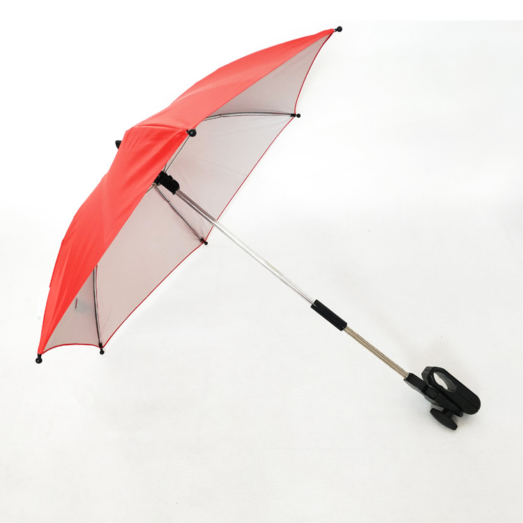 UV-Protection Small Tricycle san tui che Umbrella Parasol jia zi san Bicycle Fixture Umbrella