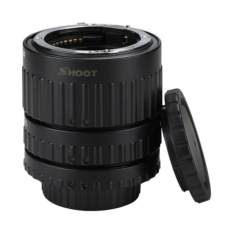 Prise de vue automatique du Tube d'extension AF Macro pour D-SLR AF AF-S DX D3300 D3200 D5500 caméra