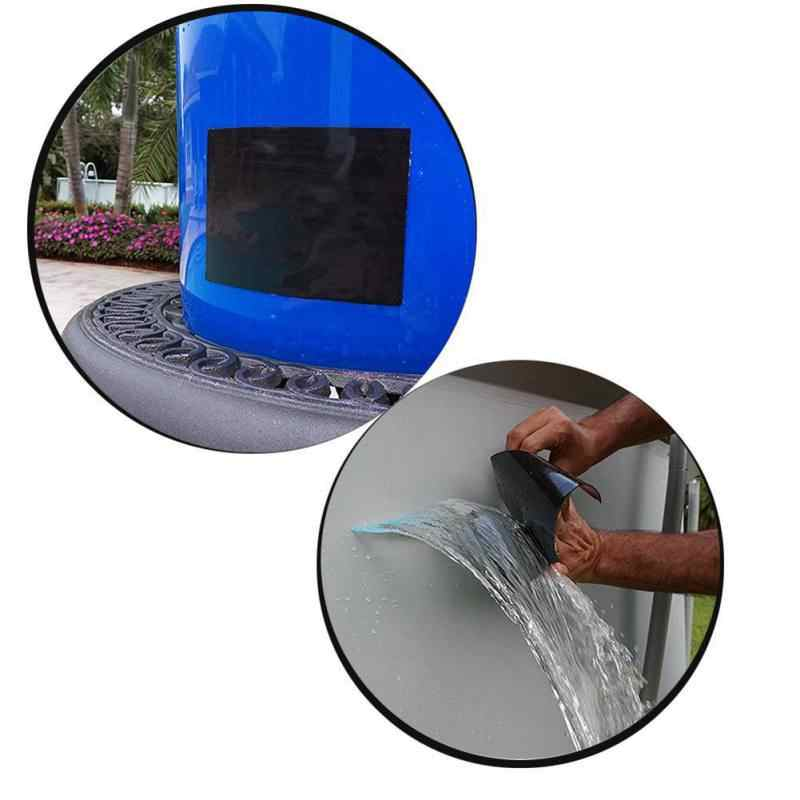 Multi-propósito Preto À Prova D' Água Fita Adesiva De Reparo de Vedação Para Tubos de Encanamento de Emergência & Mangueira de Água Vazamentos de Cabos Elétricos