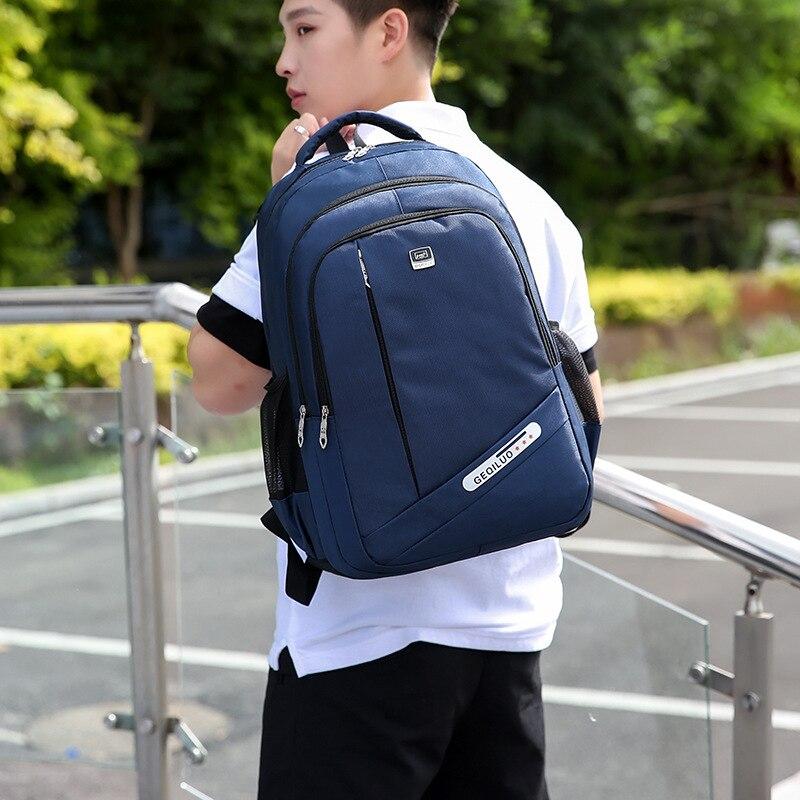 Sac à dos pour hommes lycée Junior sac d'école grande capacité ordinateur décontracté dames mode sac de voyage