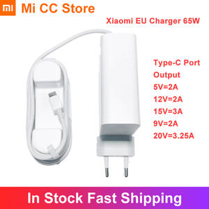 Charger Power Xiaomi Redmi Note-9s USB-C 65W 20V for 10-pro/Redmi/Note-9s/8-8t Type-C-Port