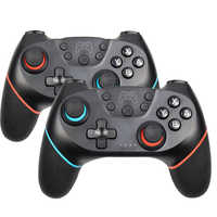Inalámbrico-Bluetooth Gamepad para Nintend Switch Pro NS-Switch Pro controlador de joystick de juego para Switch Console con mango de 6 ejes