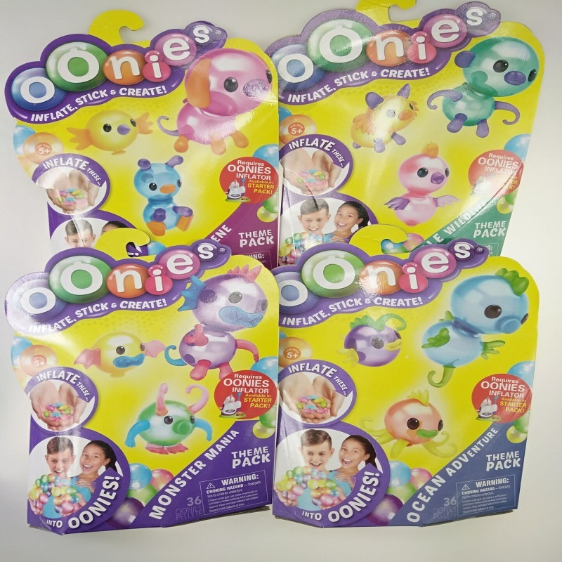 Oonies Refill Pack Top Quality Magic Adhesive Children Handmade DIY Creative Sticky Ball Onoies Bubble Inflator Onies Toys