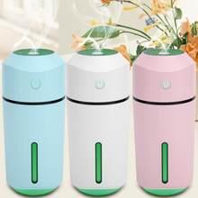 Hava nemlendirici taşınabilir LED Mini USB nemlendirici Hava temizleyici difüzör ofis ev araba Hava spreyi ultrasonik nemlendirici